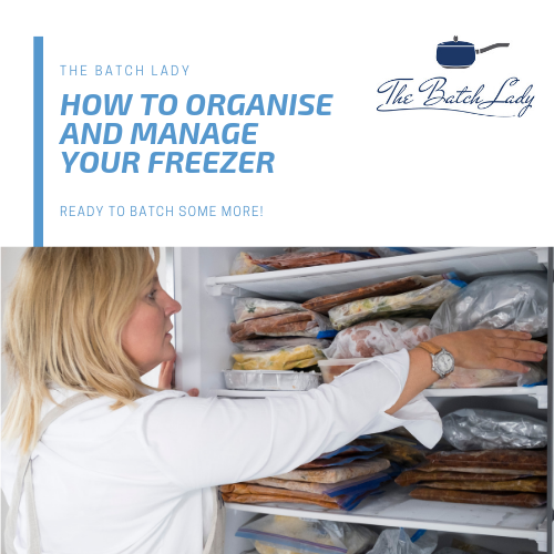 How to organise and manage your freezer