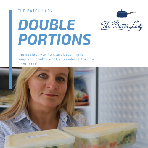 Quick and Easy Double Portions