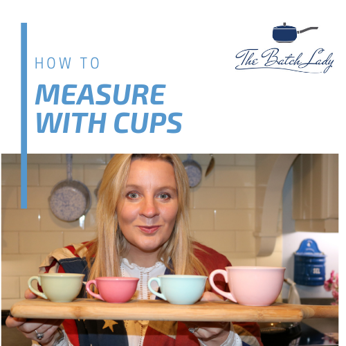 How to measure with cups
