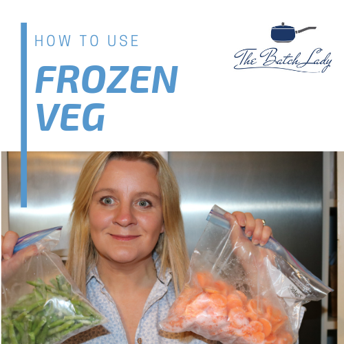 How to use frozen veg
