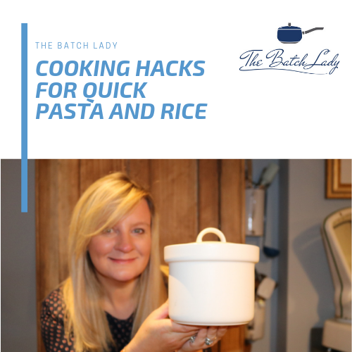 Cooking hacks for Quick Pasta and rice
