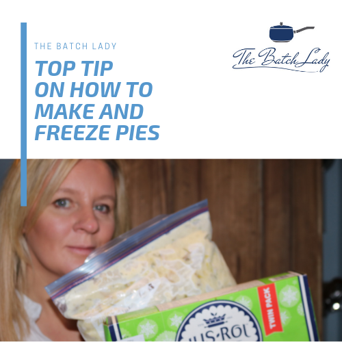 Top tips for making and storing Pies