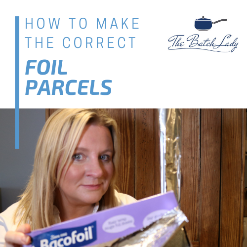How to make the correct foil parcels