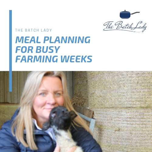 Meal planning for busy farming weeks