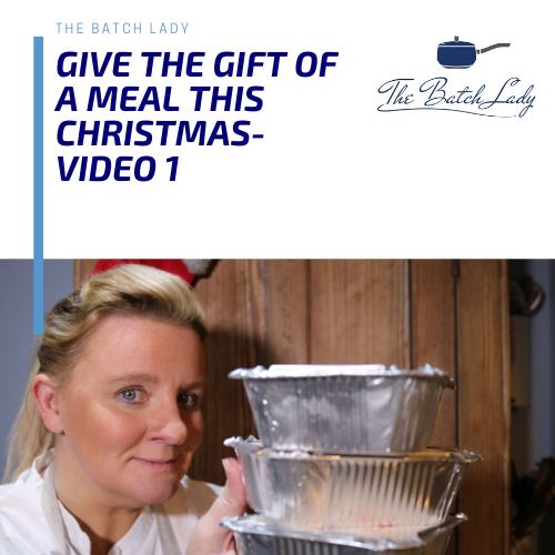 Give the gift of a meal this Christmas – Fish Cakes