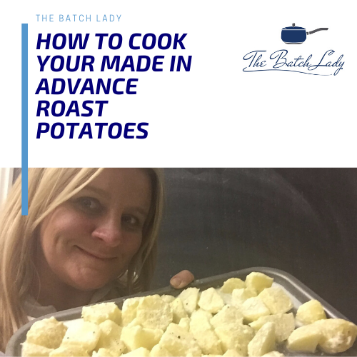 How to cook your made-in-advance Roast Potatoes & Veg