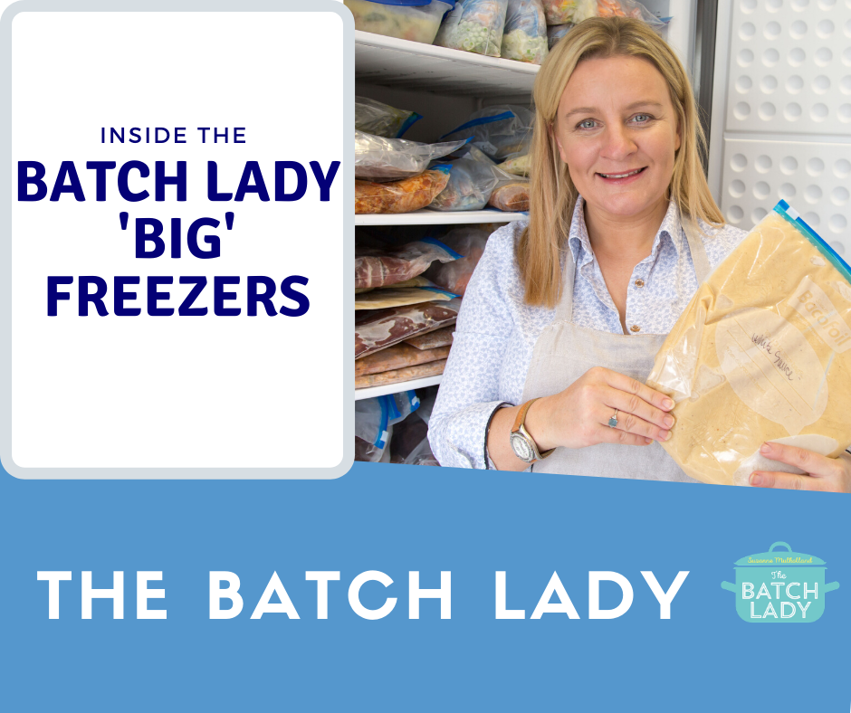 Inside The Batch Lady's 'big' freezers